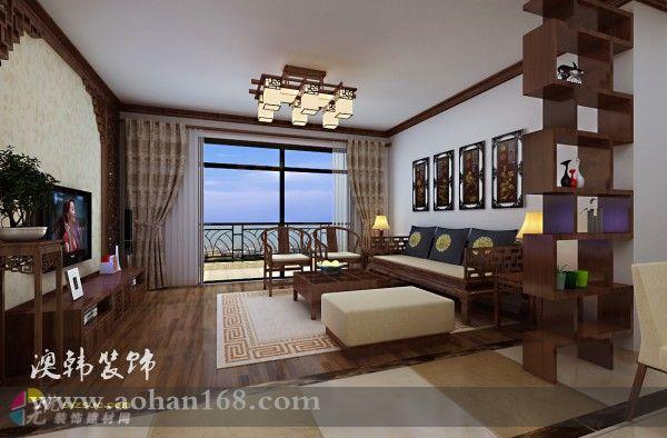 客厅铺砖造型设计